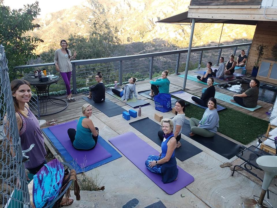 Nazli Takesh yoga san diego